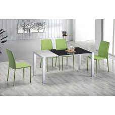 E114-F93 Modern Dining Table and Chair Suite